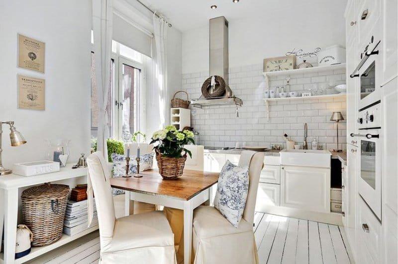 Кантри и др. деревенские стили в интерьере кухни.