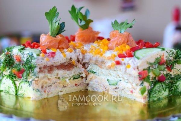 Рецепты праздничных тортов фото пошагово