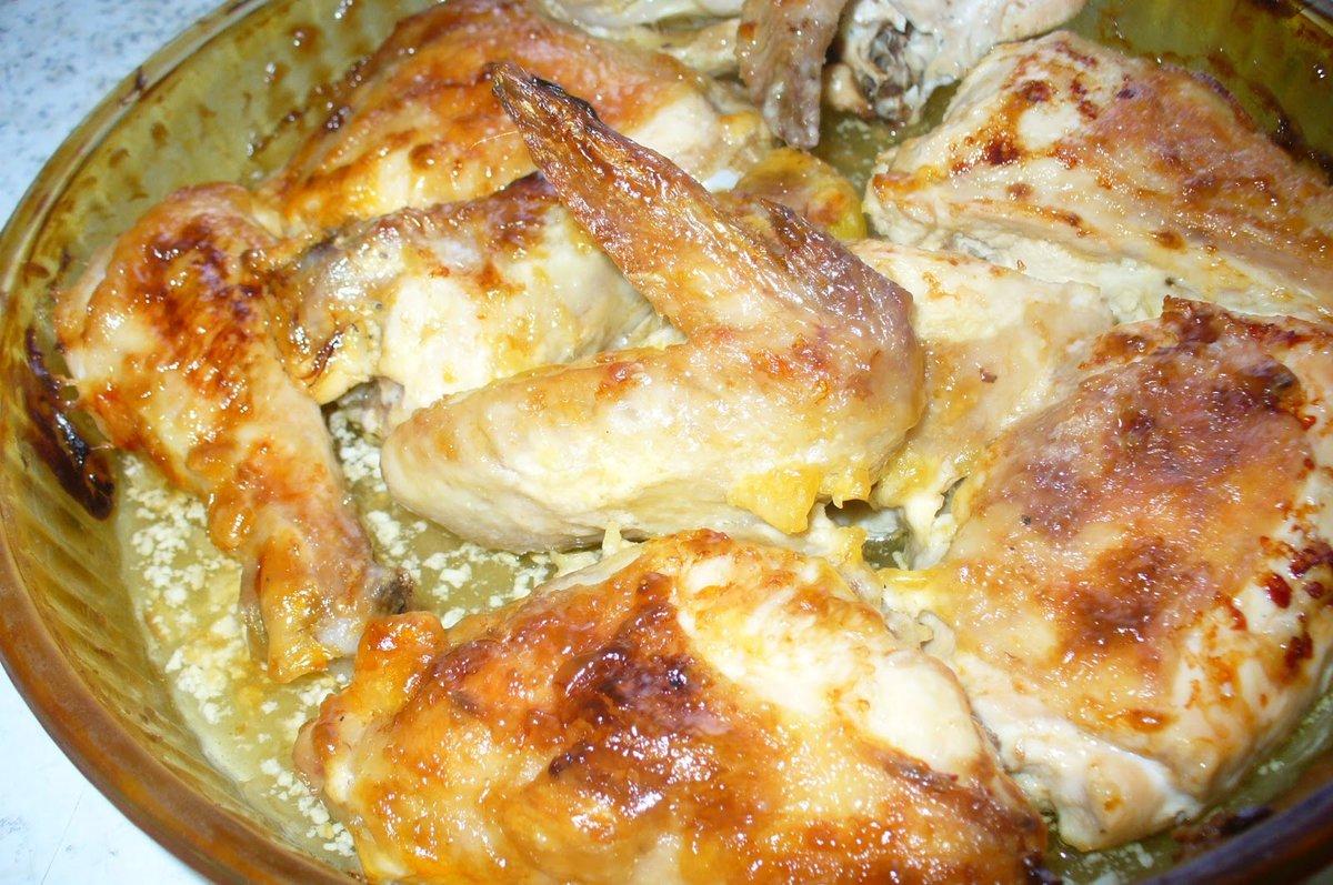 Курица жареная, отварная, запечённая целиком, фаршированная.