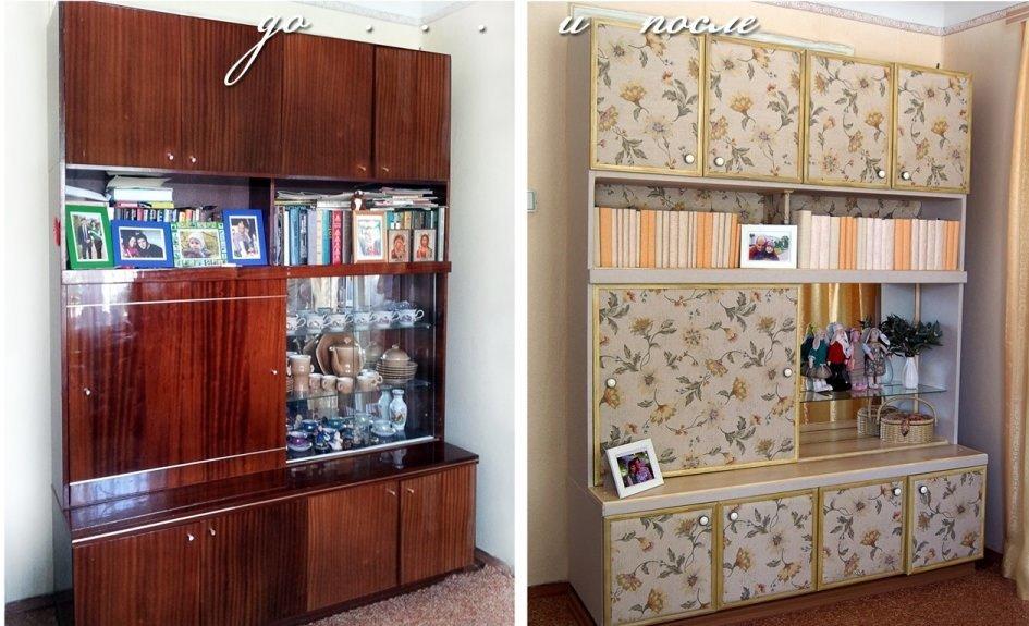 Декорировать шкафа своими руками 575