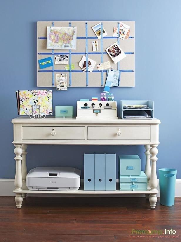 идеи дизайна и декора домашнего офиса для творческой девушки ...
