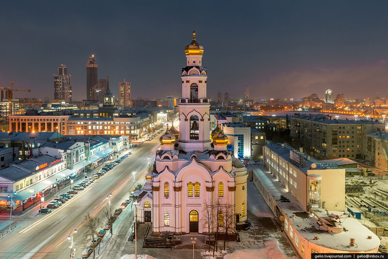 Храм-колокольня «Большой Златоуст»  улица 8 Марта, 17а, Екатеринбург, Россия