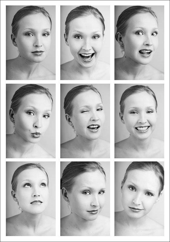 Картинки с выражениями эмоций
