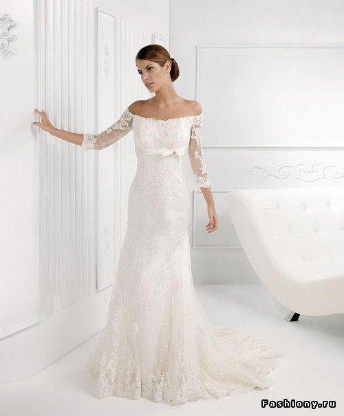 Итальянский стиль в свадебных платьях