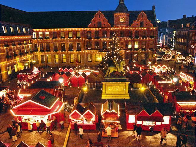 Рождественский базар Дюссельдорф