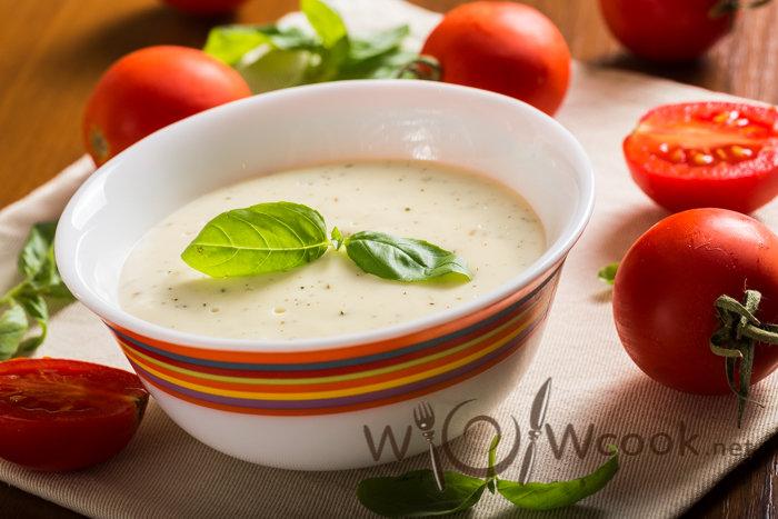 Как готовить белый соус для супа пюре