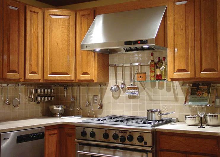 Из чего сделать рейлинги для кухни своими руками 61