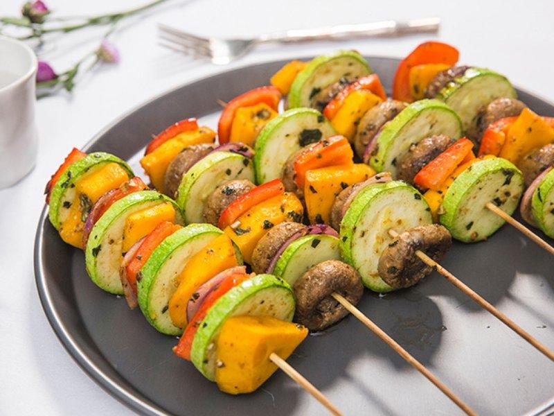 Как приготовить Шашлык из овощей