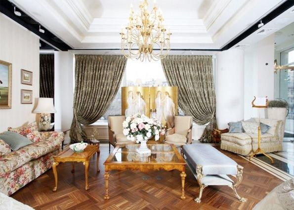 Викторианский стиль в интерьере гостиной (фото) Викторианский стиль