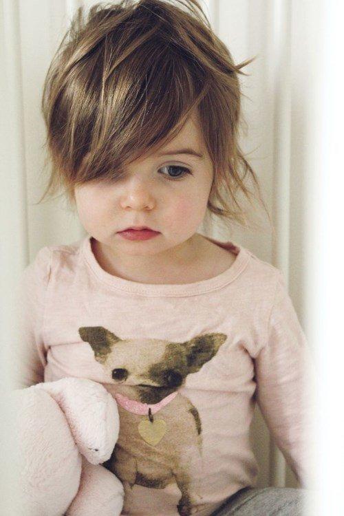 Короткие стрижки для девочек. очень мило!