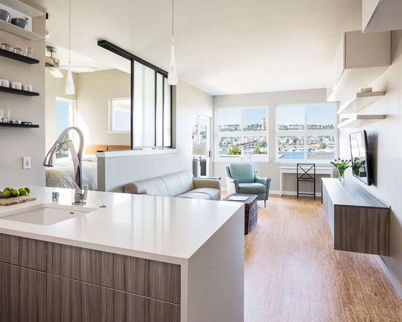 ♥♥♥ Дизайн двухкомнатной квартиры: фото и дизайн проекты интерьера двухкомнатной квартиры 60 и 50 кв м; лучшие решения для хрущевки и квартиры в панельном доме.