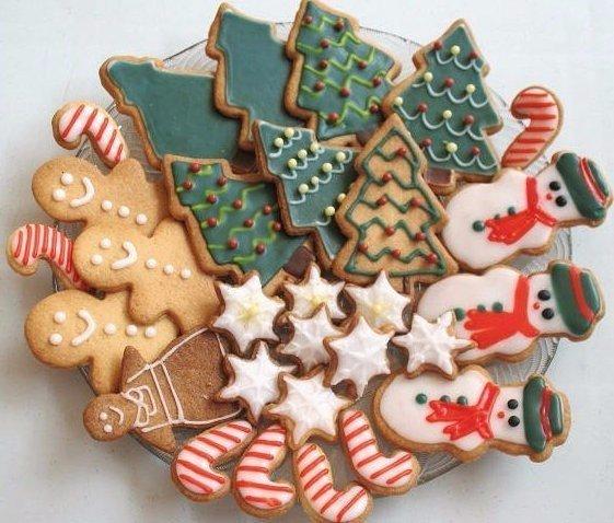 настоящий рецепт новогоднего имбирного печенья