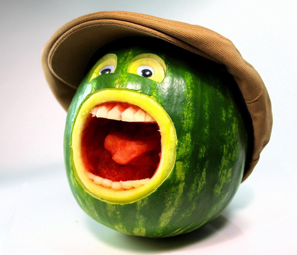 Днем, прикольные фруктовые картинки
