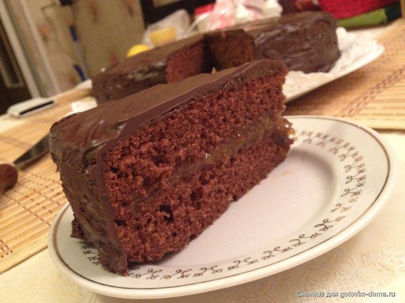Рецепт торт захер с фото