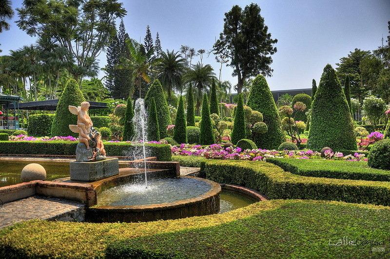 Европейский сад