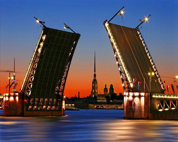 разводные мосты в Санкт-Петербурге