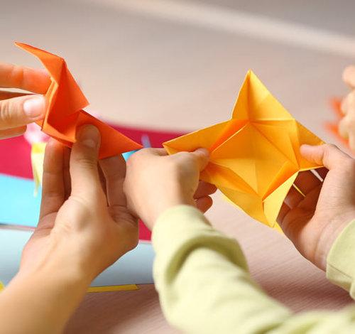 Поделки из бумаги для детей