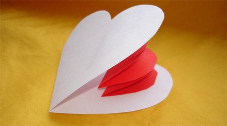 Поделки из бумаги! Сделать из бумаги своими руками! Как сделать валентинку из бумаги своими руками на 14 февраля?