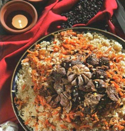 узбекский плов в казане из баранины рецепт с фото