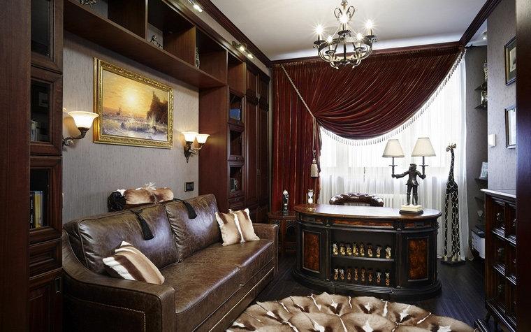 Элитный кабинет в огромном особняке