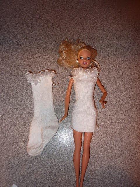 платье из носка