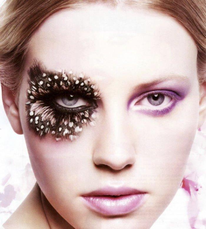 Подборка весьма красивого и креативного макияжа   Подборка весьма красивого и креативного макияжа