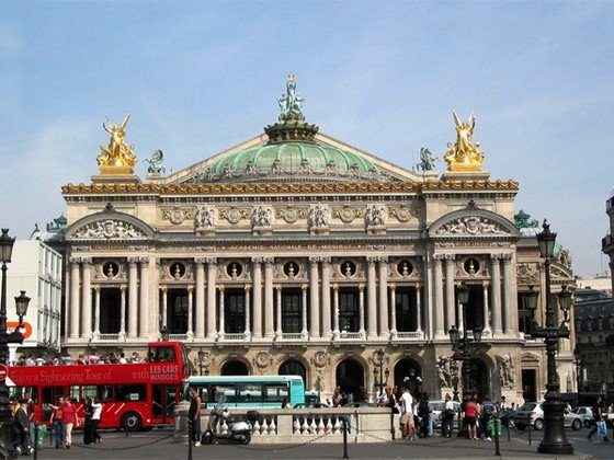 Гранд Опера самый известный театр во Франции