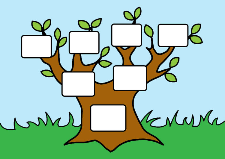 Картинка родословное древо для детей