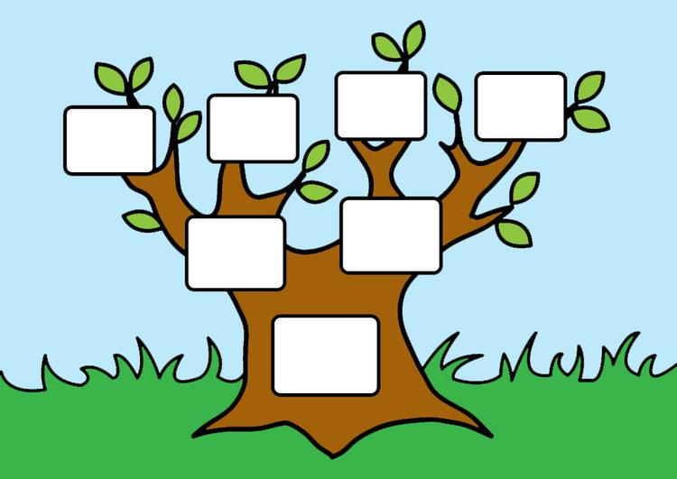 стремится рисунки генеалогического дерева тесные