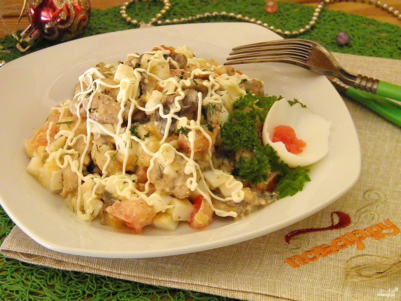 Кулинария новогодний салаты с фото