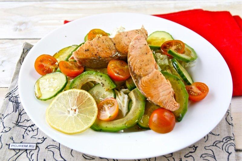 Весенний салат рецепт в домашних условиях