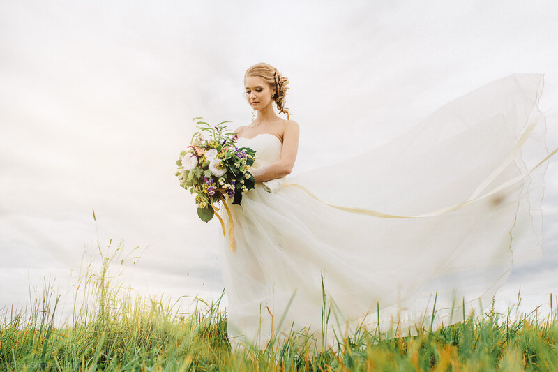 Свадьба в деревне...