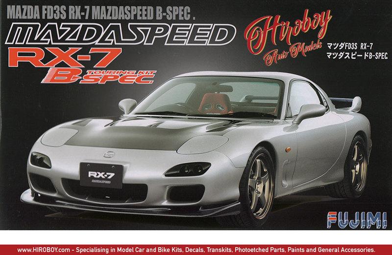 Fujimi Mazda RX-7 FD3S Mazdaspeed B Spec