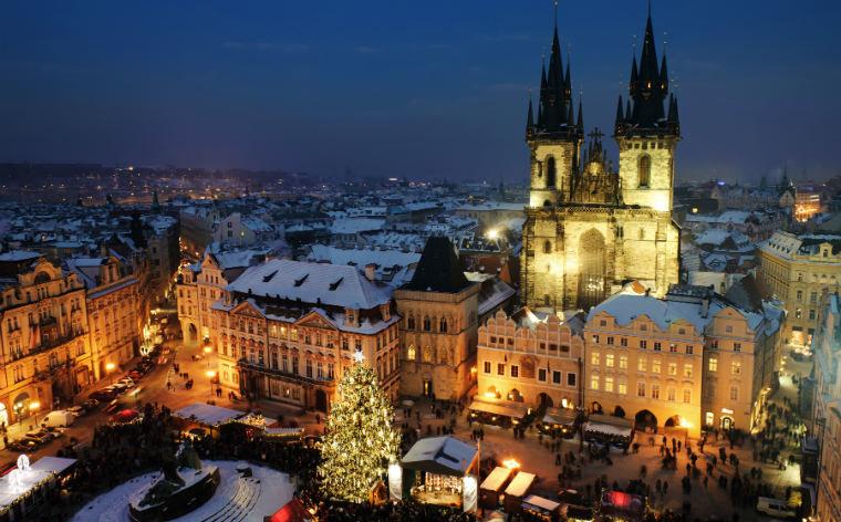 Что может быть чудеснее, чем Новый год в Праге?