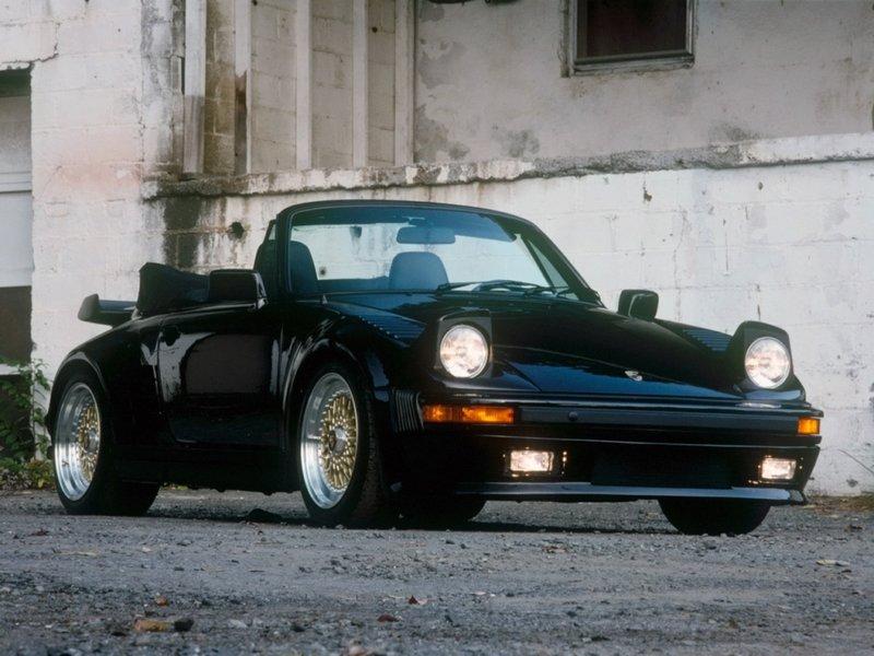 Porsche 911 Turbo 3.3 Flachbau Cabriolet