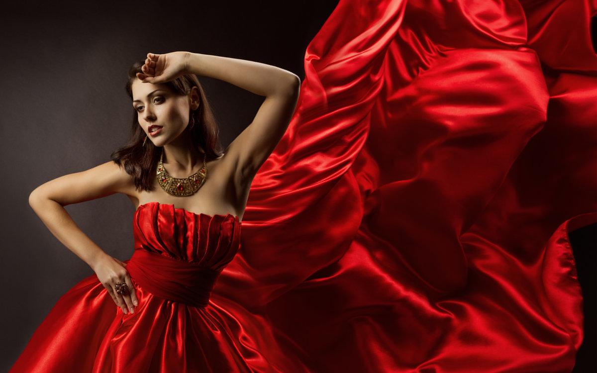 Фотосессия девушка в красном — img 8