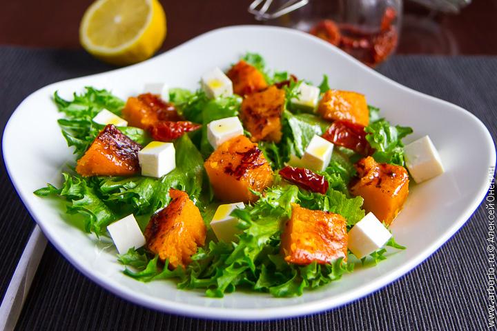 Романтический салат с фото