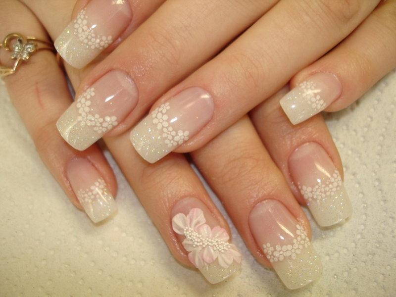 Дизайн ногтей невесты