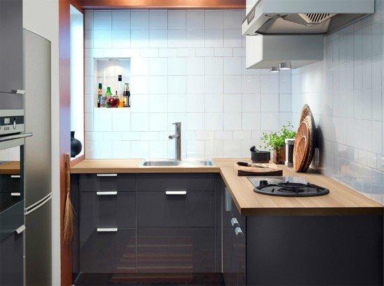 В нашей фотогалерее вы можете посмотреть фото дизайна интерьера маленькой кухни и взять идею для своей.
