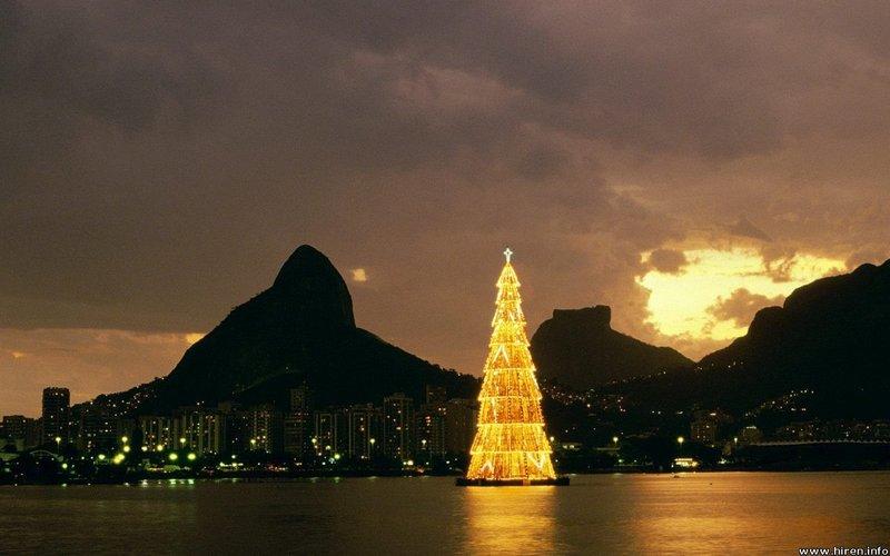 Новый год в Рио де Жанейро, пляжный отдых, отдых на Амазонке и посещение водопадов Игуасу