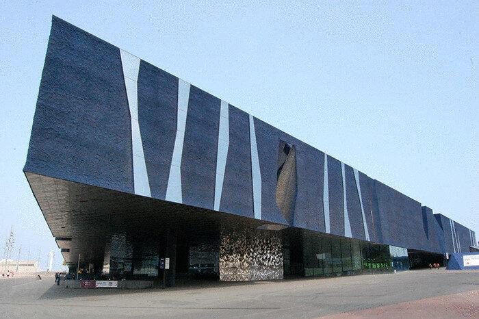 Здание Форума в Барселоне