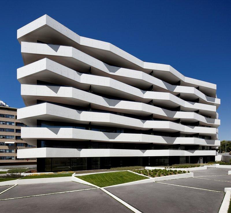 Французский геометрический урбанизм - современная архитектура Из Architizer.