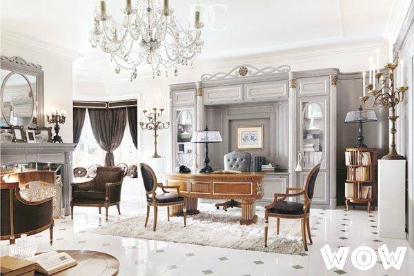 Рабочий домашний кабинет в стиле прованс фото