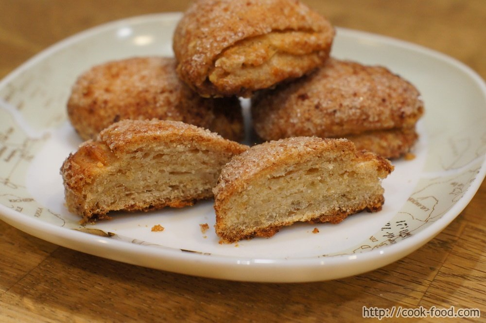 Печенье на кефире и растительном масле