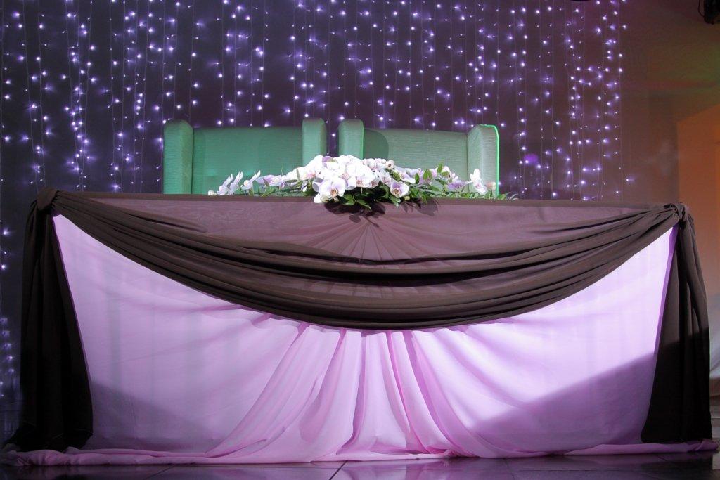 фото шикарные сцены на свадьбу украшением пристани