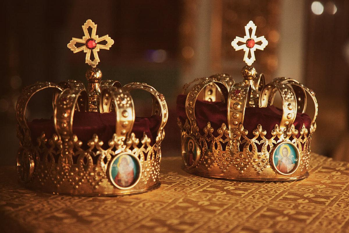 Картинки венчальные короны