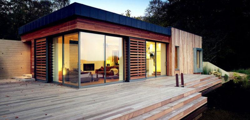 Здесь вы найдете современные красивые дома, которые отличаются стильным оформлением. Внутренний интерьер, а также планировка