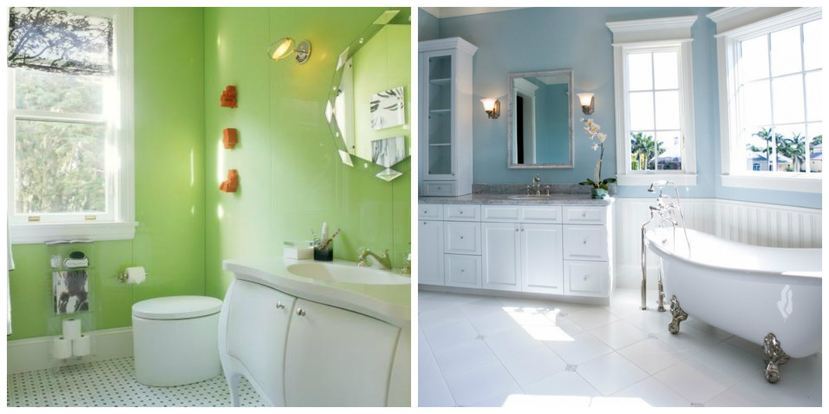 """""""Designers have offered bathroom paint colors 2019 trends ..."""