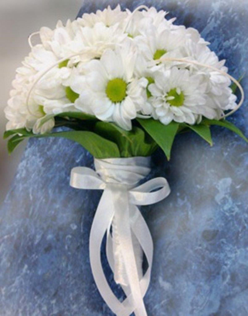 Букет невесты на свадьбу из хризантем фото, волгоград заказ