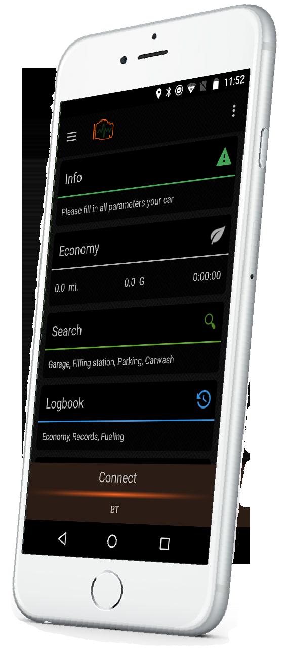 bc218a3afc27 Гаджет Economy для авто. Гаджет - Анализ вождения и состояния автомобиля  Перейти на официальный сайт